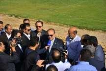 قول مساعد وزیر ورزش برای تامین اعتبار ساخت استادیوم 15 هزار نفری و تکمیل استادیوم فعلی بندرماهشهر