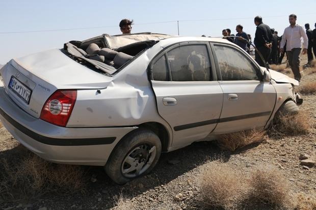 واژگونی خودرو در سبزوار چهار مصدوم داشت