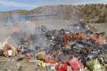 785 کیلوگرم مواد غذایی فاسد در فسا معدوم شد