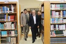 حمایت از کتابخانه ها زمینه ساز توسعه فرهنگی جامعه است