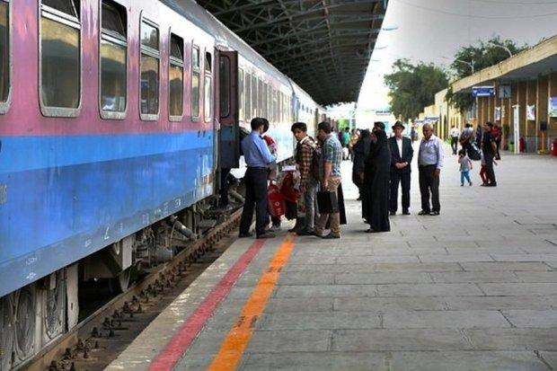 حرکت قطارها از محور جنوب از سر گرفته شد