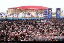 مردم استان بوشهر پشتیبانی خود  را از دولت ثابت کردند
