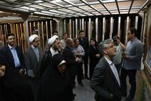 بازدید نمایندگان مجلس از گنجینه موزه هنرهای معاصر تهران