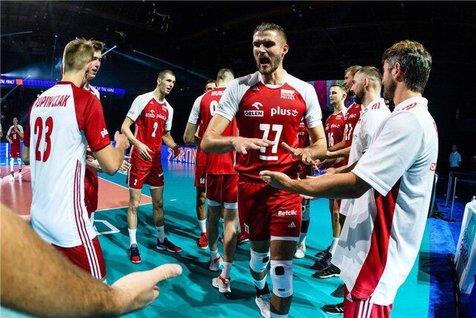 حرف های سرمربی تیم ملی والیبال لهستان پس از شکست مقابل برزیل
