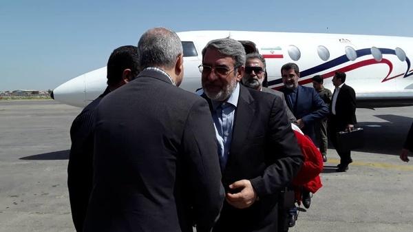 وزیر کشور لحظاتی پیش وارد خوزستان شد