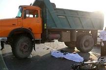 حادثه تصادف در جاده اهواز - شوش مرگ موتور سوار را رقم زد