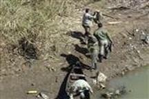اجرای عملیات پاکسازی در زمینه صید رودخانه شلمانرود