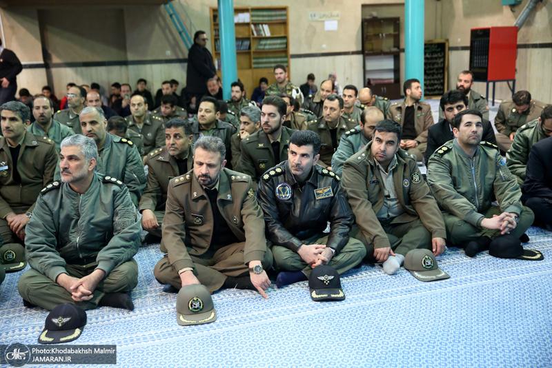 بازدید جمعی از فرماندهان نیروی هوایی از جماران