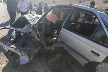 سانحه رانندگی در شرق گلستان پنج نفر را راهی بیمارستان کرد
