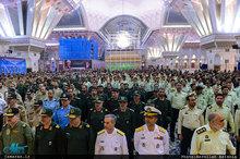 تجدید میثاق جمعی از فرماندهان نیروهای مسلح با آرمان های حضرت امام(س)