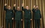 چهار فرمانده سپاه در یک عکس