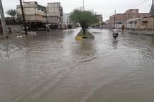 بارندگی خیابان های شادگان را سیلابی کرد