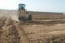بیش از 12 هزار متر مربع از اراضی دولتی رفسنجان رفع تصرف شد