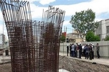 شتاب دوموتوره در عرشه پروژه پل قدس اردبیل