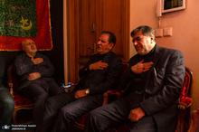 عزاداری شب عاشورای حسینی(ع) در منزل صادق خرازی