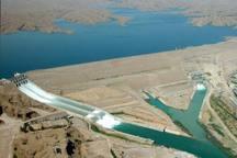 حجم آب سد کرخه به 4.4 میلیارد مترمکعب رسید