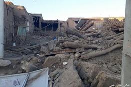 ۹۰ درصد روستای ایوق آسیب دیده است  احتمال اسکان موقت در مناطقه زلزله زده