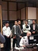 بازدید پرسنل فنی معاونت فناوری و اطلاعات ناجا از مرکز کنترل ترافیک
