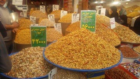 اختلاف ۵۰ درصدی قیمت آجیل و خشکبار از مبدا تا بازار