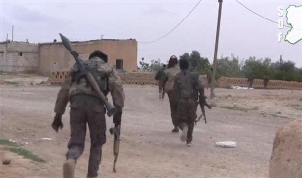 نیروهای کرد سوریه وارد شهر طبقه، دروازه غربی رقه شدند