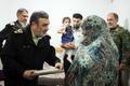 فرمانده ناجا با خانواده شهید انتظامی در گرگان دیدار کرد