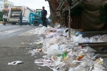 پویش مردمی شهر بدون پلاستیک در آبادان کلید خورد