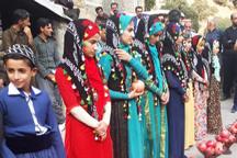 جشنواره انار اورامان در روستای ناو آغاز شد