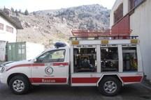 2 دستگاه خودرو ست نجات به ناوگان هلال احمر کردستان اضافه شد