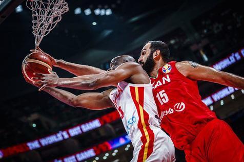 اولین برد در جام/ بسکتبال ایران پیروز جدال آسیا و آفریقا در پکن+ عکس