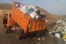 اجرای طرح مدیریت پسماند زباله در مهریز
