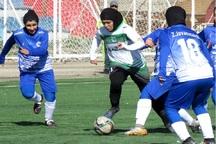 تیم فوتبال بانوان خلیج فارس شیراز مقابل پارس بوشهر باخت