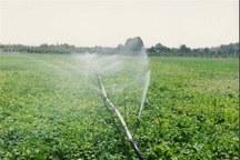 300 هکتار از اراضی بروجرد به سیستم آبیاری نوین تجهیز می شود