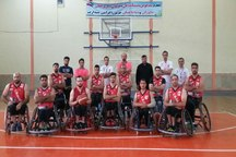 اردوی آماده سازی تیم ملی بسکتبال با ویلچر در آمل آغاز شد