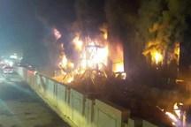 هتل پارس اهواز دچار آتش سوزی شد تخلیه کامل میهمانان هتل منبع حریق خاموش شده است