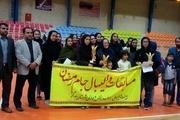 معرفی تیم های برتر مسابقات والیبال جام رمضان بانوان بندرگز