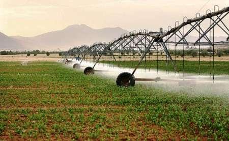 تجهیز بیش از پنج هزار هکتار اراضی ملایر به سامانه آبیاری نوین در دولت یازدهم