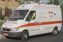 مصدومیت 3 نفر در تصادف موتورسیکلت با پراید در تهران