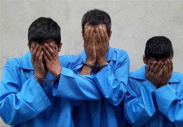 متهمان سرقت مسلحانه محموله 24 تنی میلگرد پایتخت دستگیر شدند