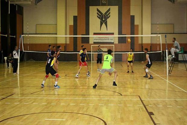 جشنواره ورزشی جام رمضان دانشگاه آزاد قزوین برگزار شد