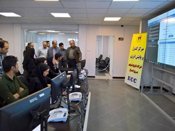 بازدید مدیرعامل توزیع برق خوزستان، از نخستین مرکز کنترل انرژی برق کشور در اهواز