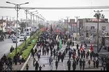 شور حسینی در مرز چذابه
