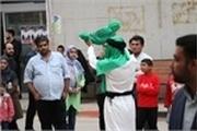 نمایش ١٢ اثر از جشنواره تئاتر خیابانی در نمایشگاه کتاب خوزستان