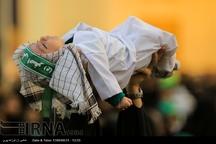 ندای لالایی علی اصغردر حرم حضرت معصومه(س) طنین انداز شد