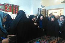 بازدید معاون رییس جمهوری در امور زنان و خانواده از نمایشگاه توانمندی بانوان قزوین