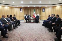 رئیسجمهور: اراده رهبری، دولت و مجلس جمهوری اسلامی ایران همکاری برادرانه و نزدیک با عراق است/ تهران در همه زمینهها آماده توسعه همکاری با بغداد است