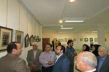 گشایش نمایشگاه تابلوهای نقره در خانه فرهنگ تبریز