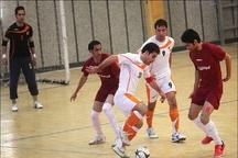 ارژن شیراز در لیگ برتر فوتسال مردان ایران شکست خورد