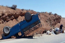 واژگونی خودرو در جاده دلیجان - اصفهان یک کشته داشت