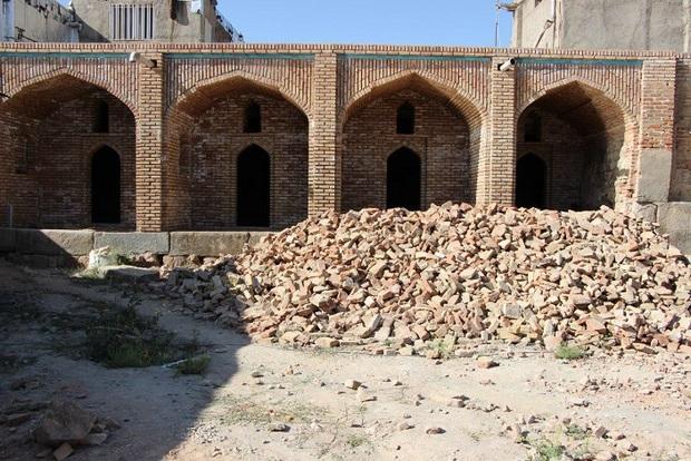 """تداوم مرمت و بازسازی مجموعه تاریخی """"حسن پادشاه"""""""