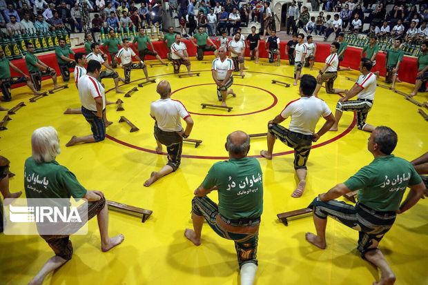 ۶۰۰ ورزشکار خوزستانی در رشته زورخانهای فعالیت میکنند
